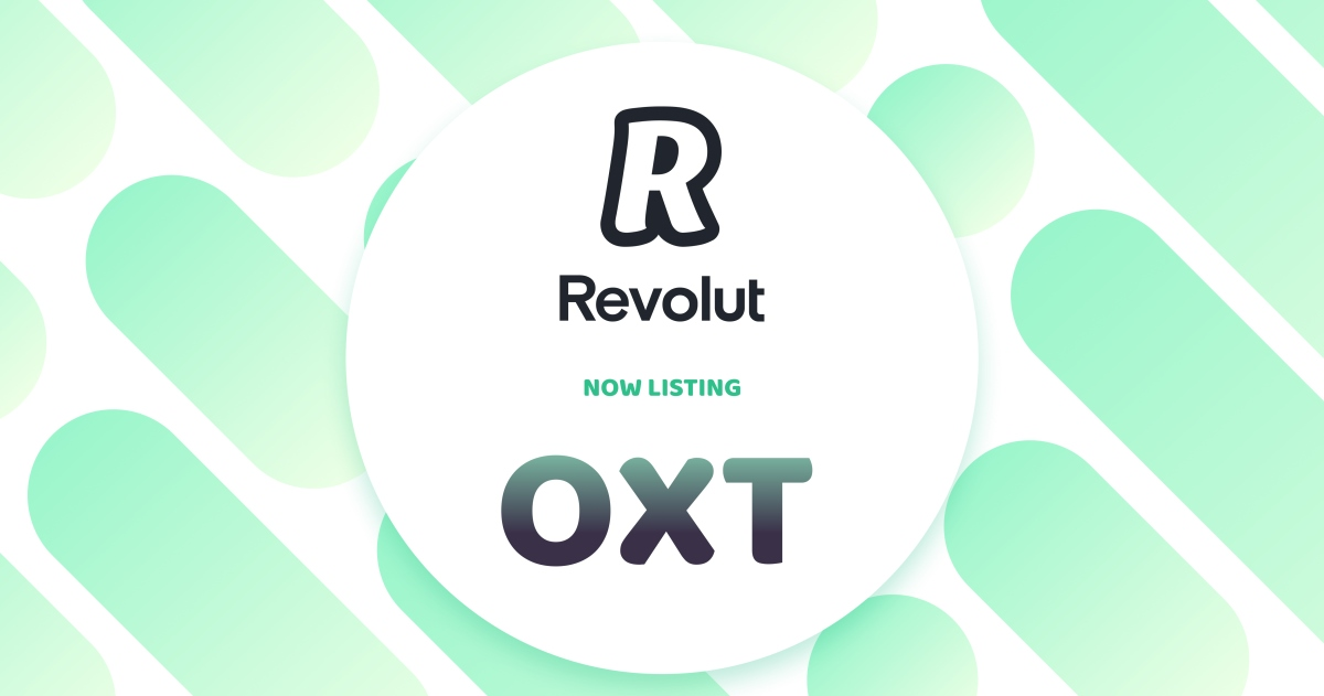 OXT, the Orchid digital token, is now available on Revolut